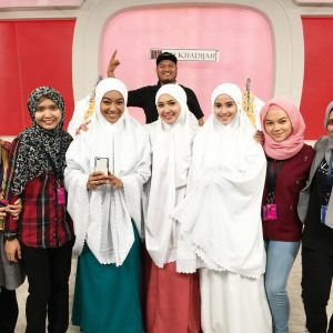 Syakirin Husnal Dan Team Telekung Siti Khadijah