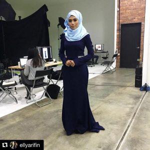 Elly Arifin Cantik Berhijab