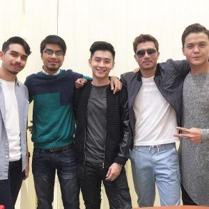 Fattah Amin, Mas Khan, Alvin Chong, Fahad Iman (Pelakon Suri Hati Mr Pilot)