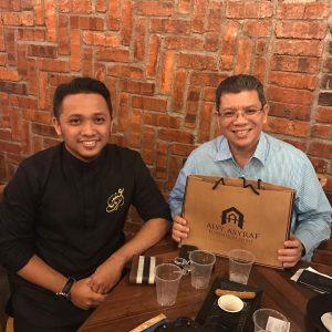 Imam Muda Asyraf Bersama Dato' Saifuddin Abdullah