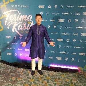 Mas Khan Berbaju Kurta Di Majlis Ramadhan
