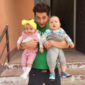 Daler Yusuf Bersama Dua Baby Comel