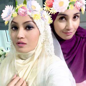 Zera Hariz Dan Izreen Azminda Berhijab