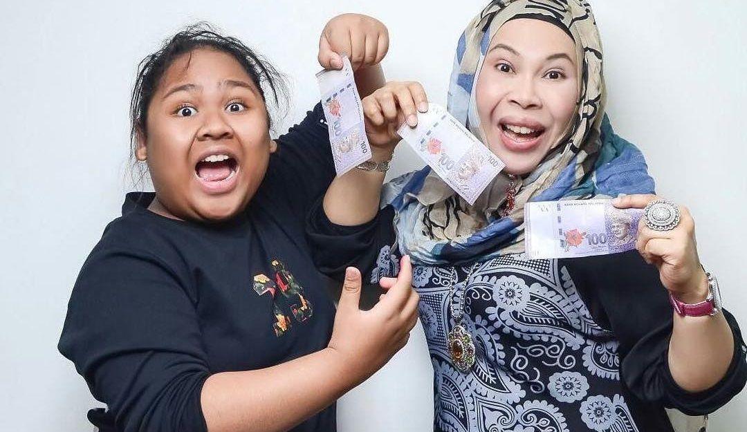 Aksi Cik B Dan Dato Seri Vida Tayang Duit