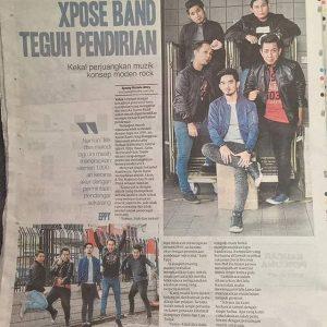 Xpose Band Dalam Suratkhabar
