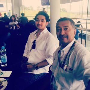Adib Khalid Mesra Bersama Tan Sri Mokhzani Mahathir