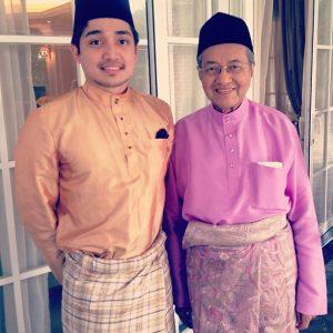 Adib Khalid Dan Idolanya Tun Dr Mahathir