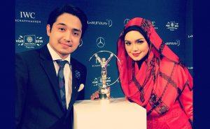 Biodata Adib Khalid, Anak Tiri Datuk Siti Nurhaliza