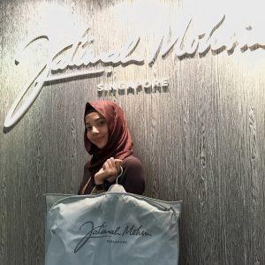 Aisyah Aziz Cantik Bertudung