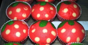 Resepi Apam Strawberry