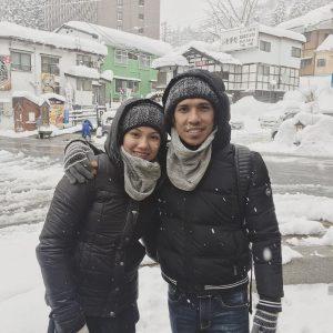 Fad Bocey Dan Isteri Berbulan Madu Di Tempat Salji
