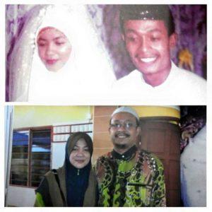 Gambar Ustaz Kazim Elias Dan Isteri Ketika Muda