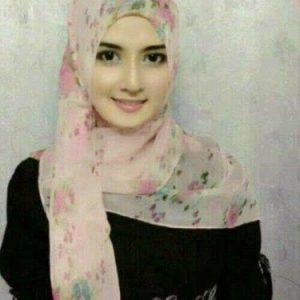 Mahadzira Gadis Melayu Cantik Bertudung Organza Silk