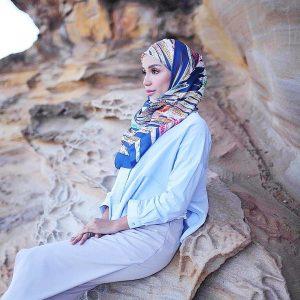 Photoshoot Hijab Nadiyah Shahab