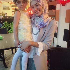 Siti Elizad Bersama Kanak Kanak Syria