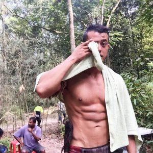 Zul Ariffin Badan Sado Tak Pakai Baju