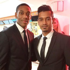 Foto Raf Yaakob Dan Anthony Martial