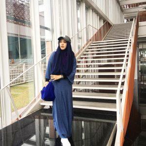 Dayah Bakar Dengan Fesyen Muslimah Pelik