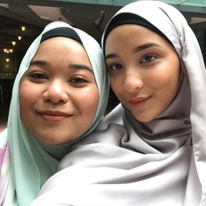 Khayreena Kemal Selfie