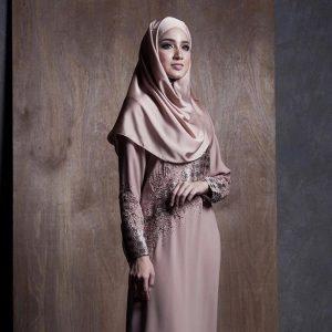Gambar Nynaa Harizal Model Tudung Muslimah
