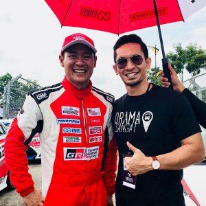 Nazrief Nazri Dan Pelumba Lagenda Tengku Djan Ley Drift