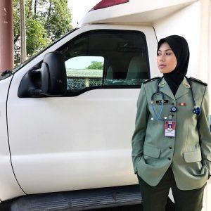 Azar Azmi Pakai Uniform