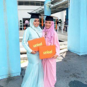 Gambar Nada Syuhada Sudah Graduate