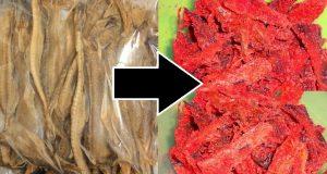 Resepi Ikan Lumek Kering Merah Pedas Manis
