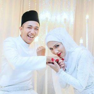 Foto Perkahwinan Adiba Yunus Dan Suami
