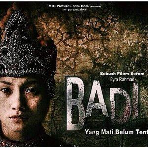 Poster Filem Badi (Adiba Yunus)