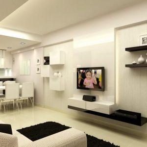 Dekorasi TV Di Rumah Kondo Yg Menarik