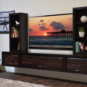 Idea Rak TV Dinding Simple