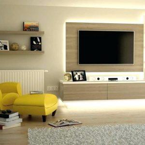 Ruang TV Yang Simple Moden Dan Cantik