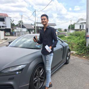 Alieff Irfan Dan Kereta Mewah Audi
