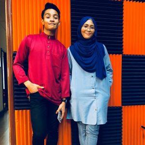Afieq Shazwan Dan Nana Siti Nordiana