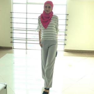 Gaya Fesyen Muslimah Atikah Suhaime