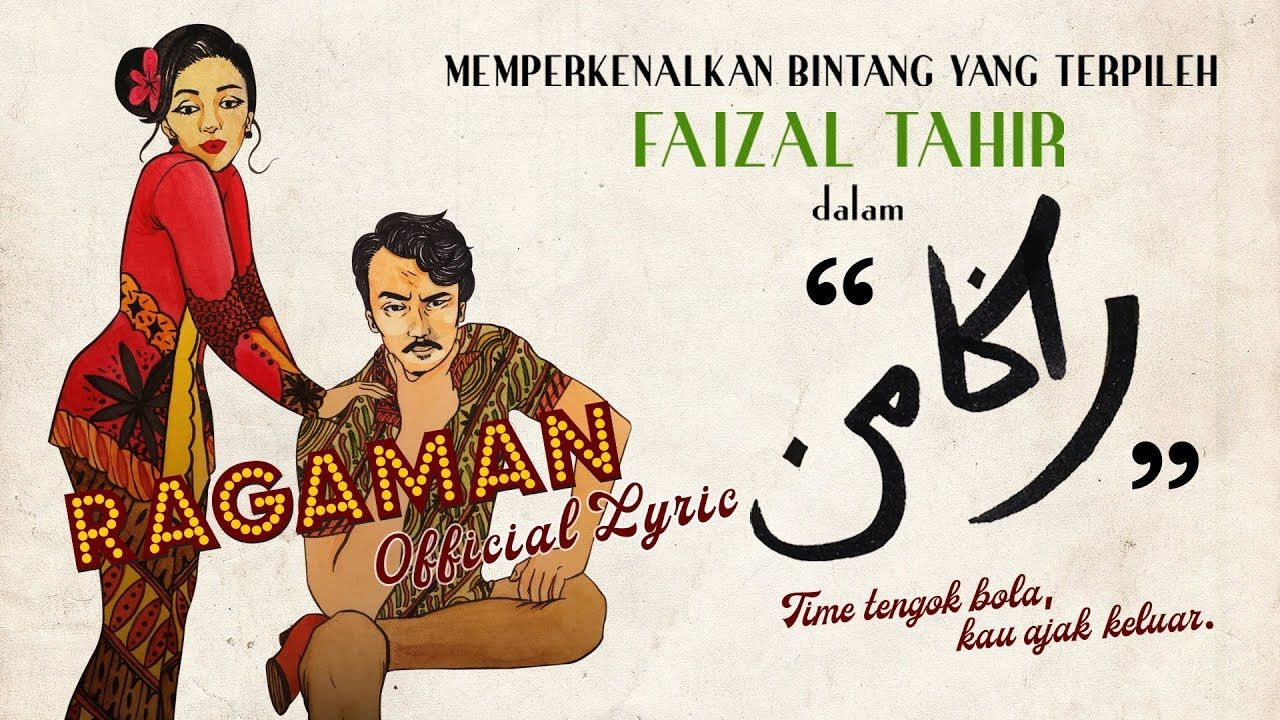 Lagu Ragaman Faizal Tahir