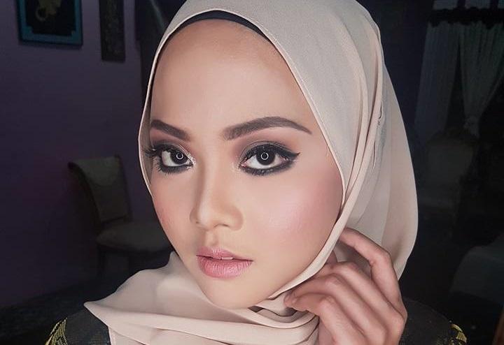 Muna Shahirah Makeup Cantik Berhijab