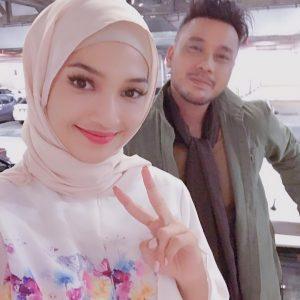 Sweet Couple Atikah Suhaime Dan Awi Rafael