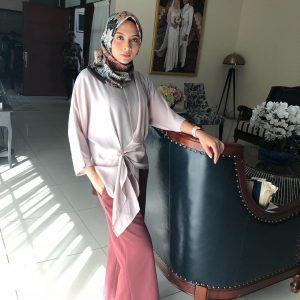 Gaya Islamik Riena Diana
