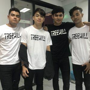 T Shirt Baju Kumpulan Treehill