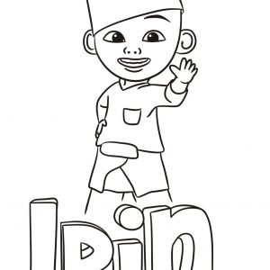 Ipin Coloring Sheet