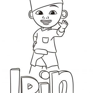 Ipin Coloring Sheet