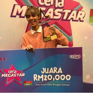 Chubb E Juara Ceria Megastar 2018