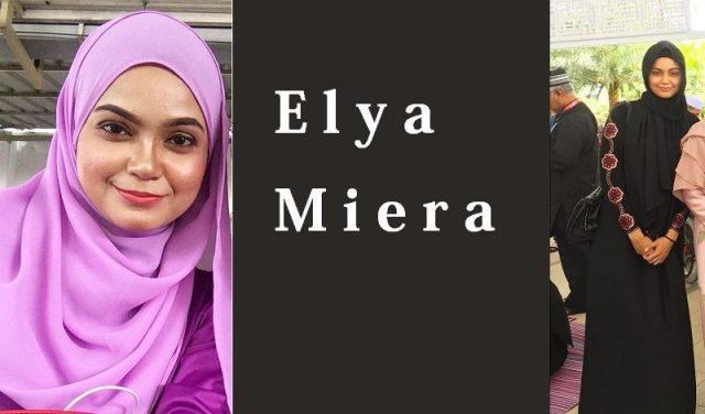 Biodata Elya Miera, Pelakon Tinggi Lampai