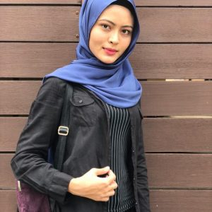 Fesyen Hijab Syida Melvin