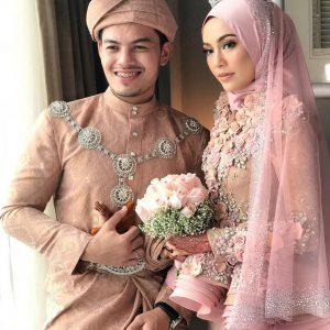 Foto Perkahwinan Syafiqah Aina Dan Hafiz Mahamad