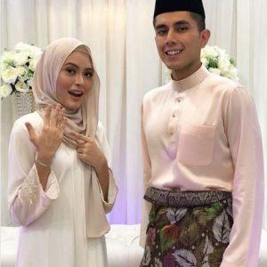 Gambar Syida Melvin Bersama Bakal Suami