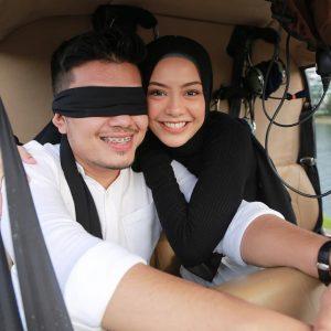 Pasangan Romantik Syafiqah Aina Dan Suami