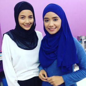 Shuhanty Hanafiah Dan Ummi Nazeera Cantik Bertudung